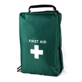 First Aid Empty Copenhagen Bag 24cm X 14cm X 9cm - Green [Each]
