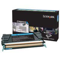 LEXMARK C748 RETURN PROG  HY CYAN