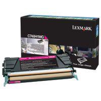 LEXMARK C748 RETURN PROG TONER CART