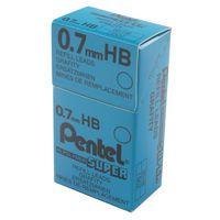 PENTEL REFILL LEAD 0.7MM HB TUBE12