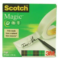 SCOTCH INVISIBLE TAPE 19MMX66M