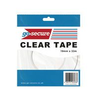 GOSECURE SMALL TAPE 19MMX33M PK12