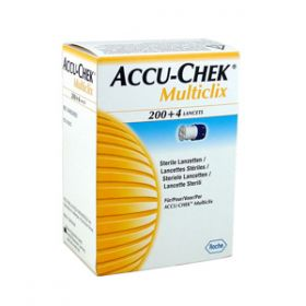 Accu-Chek Multiclix Lancets 30g/0.3mm [Pack of 204]