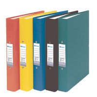 BANNER PPR RING BINDER A4 25MM BLK