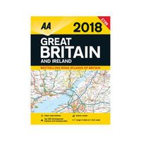 AA ROAD ATLAS GREAT BRIT / IRE 2018