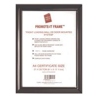 PAC PROMOTE IT DELUXE A4 BLACK FRAME