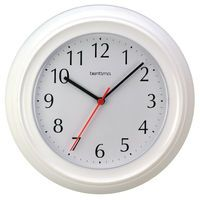 ACCTIM WYCOMBE WALL CLOCK WHT 21412