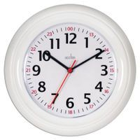 ACCTIM WEXHAM 24 HOUR WALL CLOCK WHT