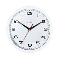 ACCTIM AYLESBURY WALL CLOCK WHT