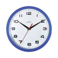 ACCTIM AYLESBURY WALL CLOCK BLUE