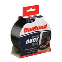 UNIBOND DUCT TAPE 50MMX25MM BLK