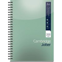 CAMBRIDGE JOTTER NOTEBK A4 200 PAGES