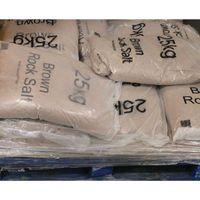 DRY BRN ROCK SALT 25KG BAG 10 BAGS