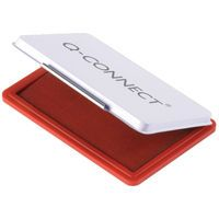 QCONNECT #2 STAMP PAD MET CASE RED