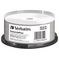 VERBATIM BD-R 50GB 6X WD PRINT BLURY