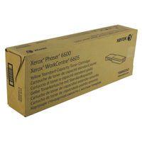 XEROX PHASER 6600/6605 YELLOW TONER