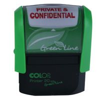 COLOP SELF INKING STAMP PRIV/CONFID