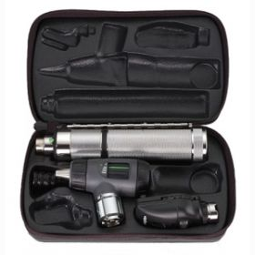 Welch Allyn 97200-MBI 3.5V Prestige Set with C-Cell Handle and Throat Illuminator