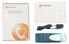 Carefusion SPCU100 Spida 5 Or SpidaXpert Upgrade To Spirometry PC Software