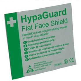 HypaGuard Flat Face Shield Pack of 10