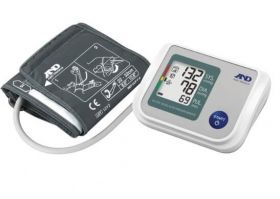 A&D UA-767S Automatic Blood Pressure Monitor - with Adult Cuff, Batteries & Carry Case