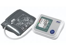 A&D UA-767SW Automatic Blood Pressure Monitor - with Wide Range Cuff, Batteries & Carry Case