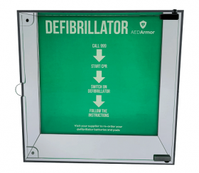 AED Armor High Impact Perspex Indoor Cabinet