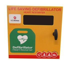 AED Armor Stainless Steel Cabinet No Lock with heating