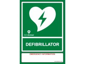 A4 AED Wall Sign [Pack of 1]