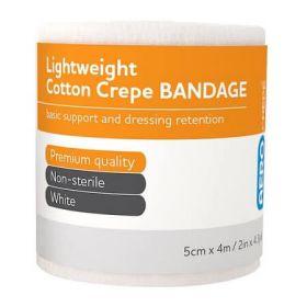 Aero Light Cotton Crepe Bandage 5cm x 4m
