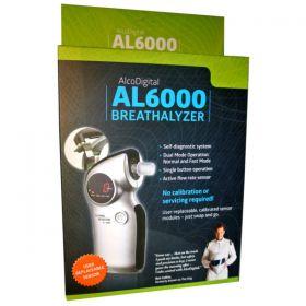 AlcoDigital AL6000 Breathalyser [Pack of 1]