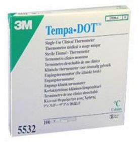 TempaDot Single Use Clinical Thermometers [Pack of 100]