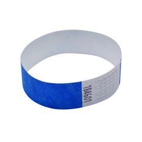 ANNOUNCE 19MM WRIST BANDS BLUE