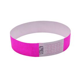 ANNOUNCE 19MM WRIST BANDS PINK