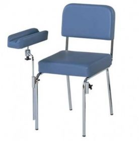 AW Additional Arm Rest For H680 Phlebotomy Chair - Black