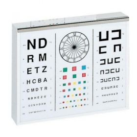 AW Select Illuminated Childs Test Chart 390mm x 450mm x 110mm