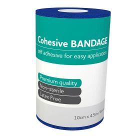 Aero Cohesive Bandage, Latex Free, 10cm x 4.5m
