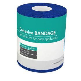 Aero Cohesive Bandage, Latex Free, 5cm x 4.5m