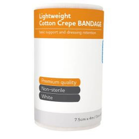 Aero Light Cotton Crepe Bandage 7.5cm x 4m