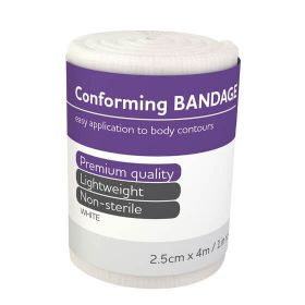 Aero Conforming Bandage, 2.5cm x 4m
