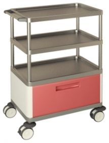 AW Select Multifunction Trolley With 1 Large Drawer And 3 Shelves