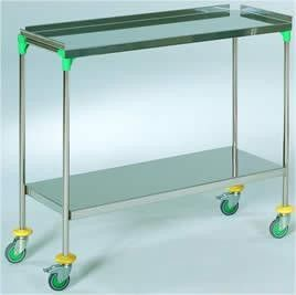 AW Select Treatment Trolley, Stainless Steel, 24 Inch