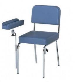 AW Additional Arm Rest For H680 Phlebotomy Chair - Blue