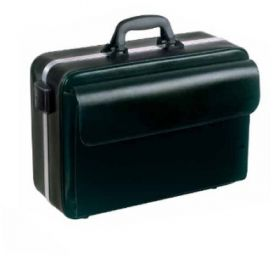 Bollmann Nova Case, Black Leather