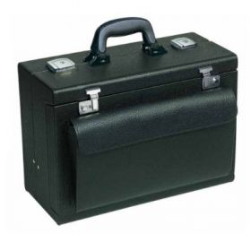 Bollmann Medica 2000 Leatherette Case, Black