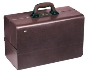 Bollmann Concertina Leather Case, Burgundy [Pack of 1]
