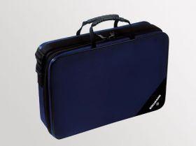Bollmann Medicare Polyester Practitioners Case With Washable Interior - Black [Pack of 1]