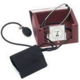 BoSo Med 1 Aneroid Sphygmomanometer With Selftest Cuff, Zipper Case And Steth.221-0-113 [Pack of 1]