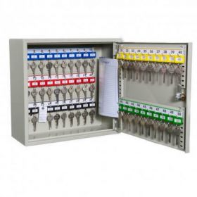Bristol Maid Cupboard - Key - 48 Hooks - Code Lock