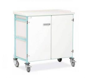 Bristol Maid Option - Doors & Back Panels - Double - 1000mm - Cam Lock With Wing Handle